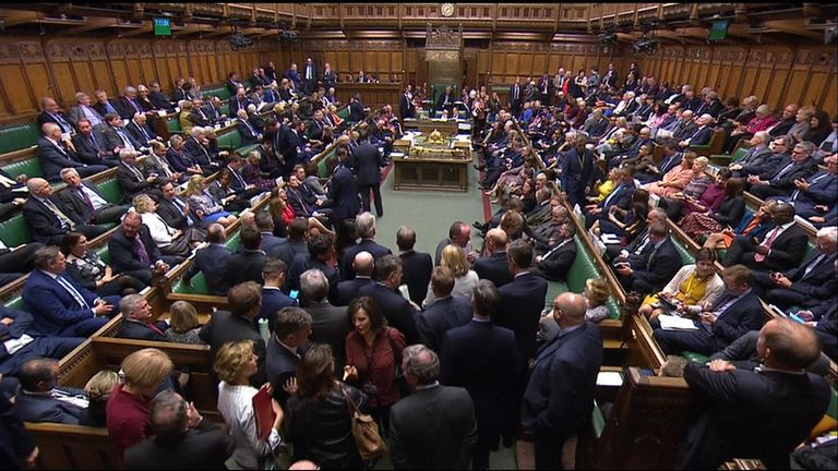 MPs vote on key hurdle for PM's deal