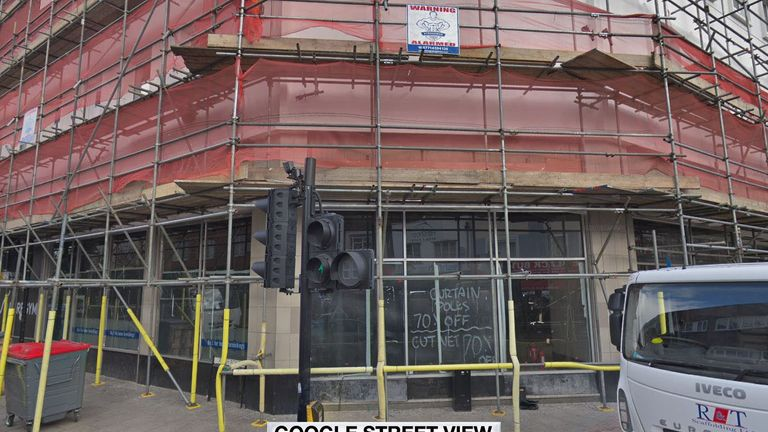 What the store front used to look like. Pic: Google Street View