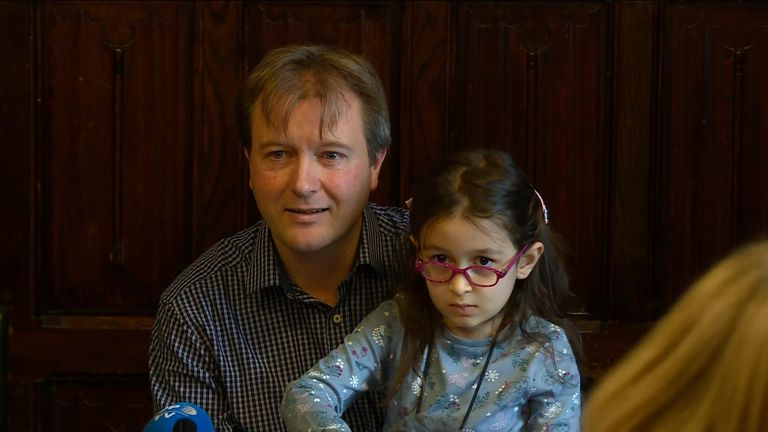 Nazanin Zaghari-Ratcliffe's husband and daughter