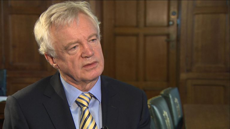 David Davis believes Boris Johnson will probably get his Brexit deal through parliament