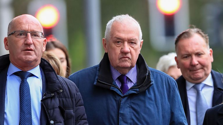 David Duckenfield was the match commander on the day of the Hillsborough disaster
