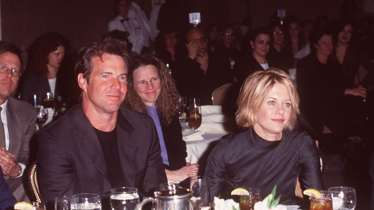 Quaid has been married three times, including to actress Meg Ryan