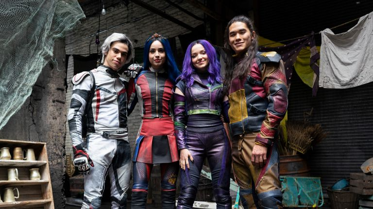 DESCENDANTS 3 - Coverage. (Disney Channel/David Bukach).