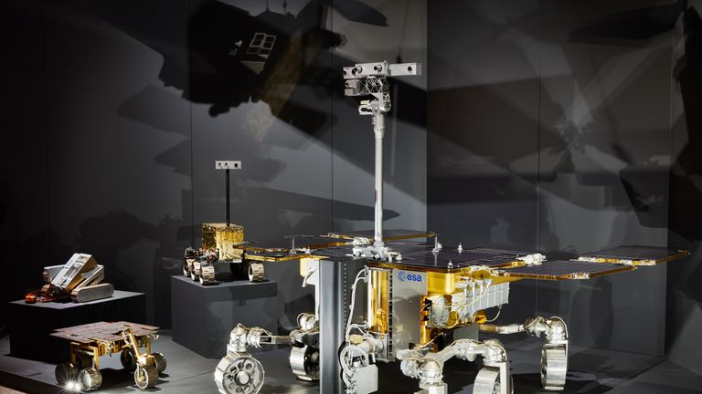 The exhibition curator says the reality of a Mars mission is 'fast approaching'. Pic. Ed Reeve