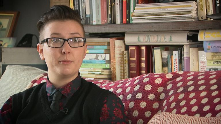 Hundreds of young transgender people are seeking help to return to their original sex, Sky News has learnt.