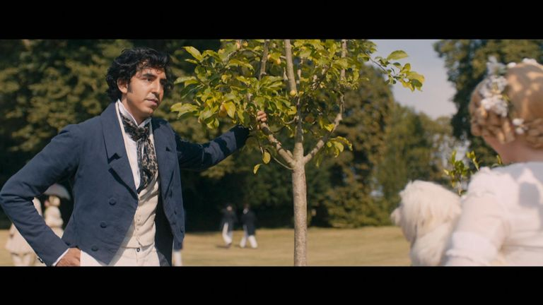 Dev Patel stars in the The Personal History Of David Copperfield
