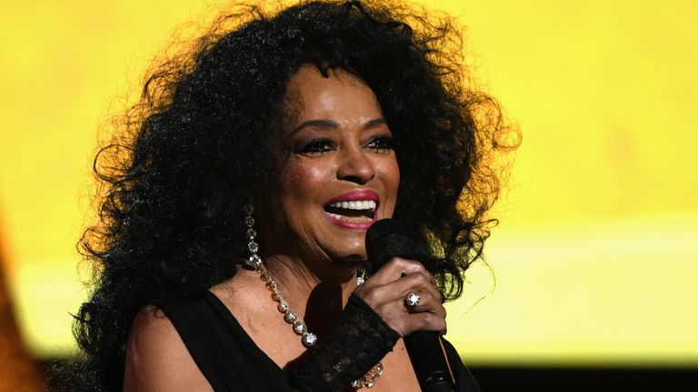 Diana Ross performs during Motown 60: A GRAMMY Celebration at Microsoft Theater on February 12, 2019 in Los Angeles, California