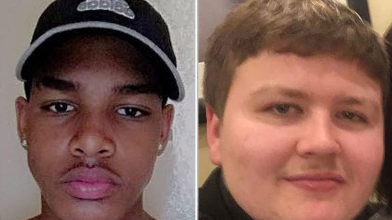 Both 17-year-olds were stabbed to death