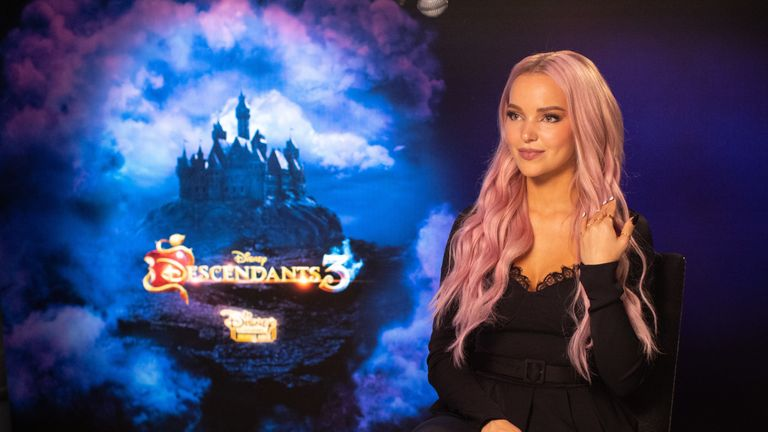 Disney actress Dove Cameron stars in Descendants 3