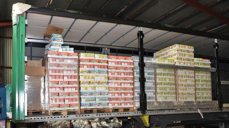 Drugs haul. Pic: NCA