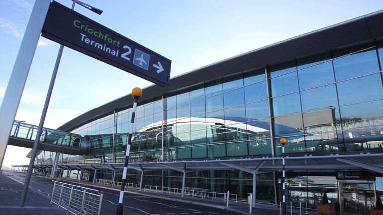 Terminal 2 of Dublin Airport