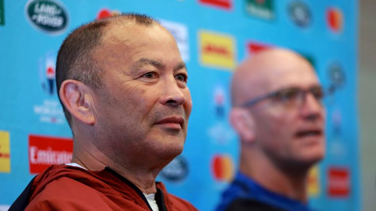 Eddie Jones claims the England team were spied on during training