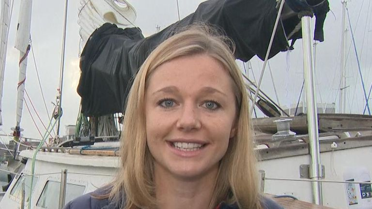 The Exxpedition mission is headed up by Sky Ocean Rescue ambassador Emily Penn