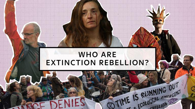 Who are Extinction Rebellion?