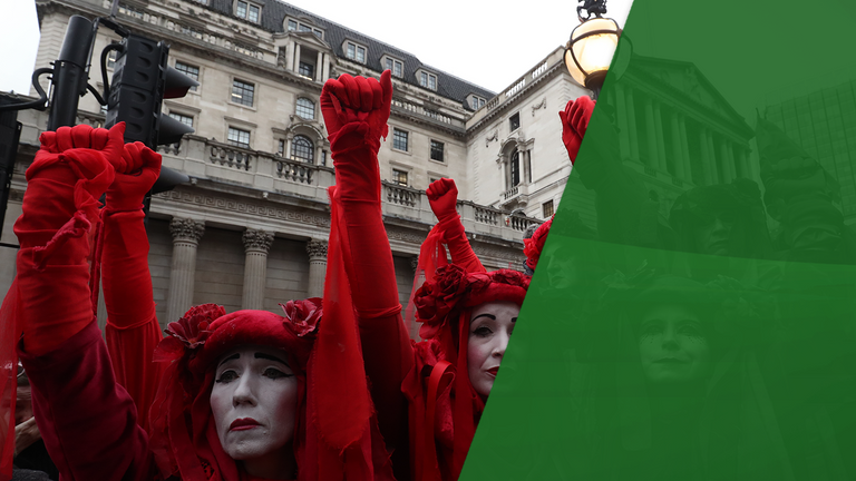 Extinction Rebellion targeted the City of London during its protests