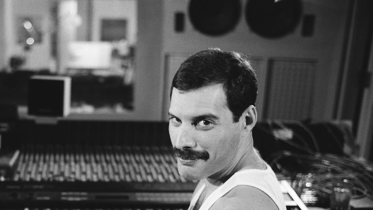 Freddie Mercury. Pic: Peter Roshler/ Mercury Songs Ltd