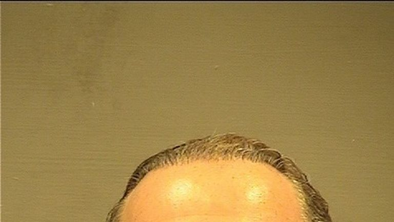 Russian-born Igor Fruman in his police mugshot from Alexandria Sheriff's Office