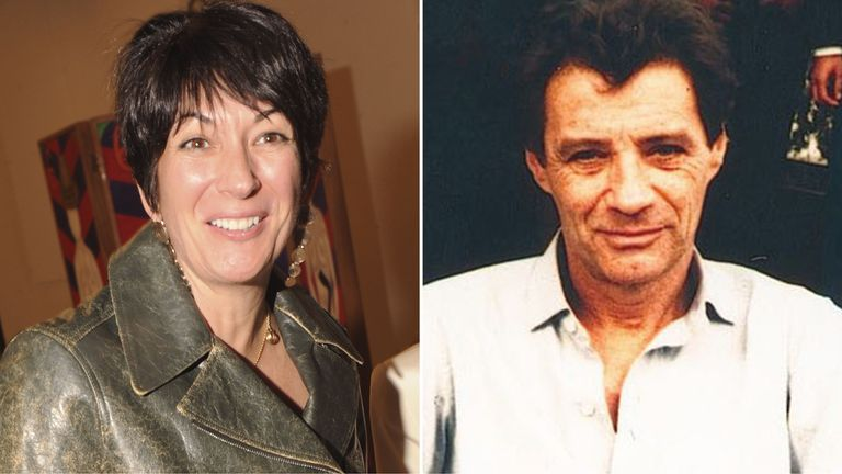 Ghislaine Maxwell and Jean-Luc Brunel. Pics: Fairchild Archive/Penske Media/Shutterstock/Matrix Media