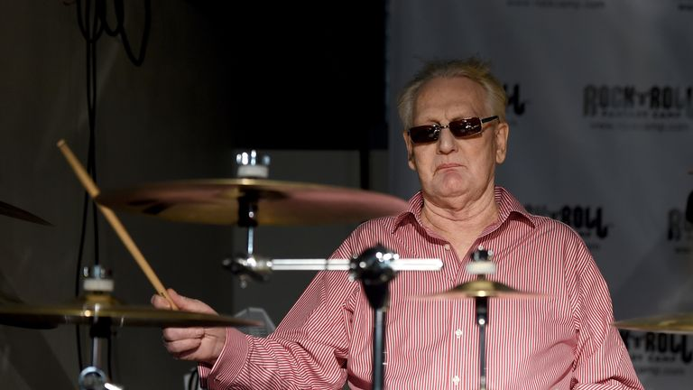 Ginger Baker has died at the age of 80