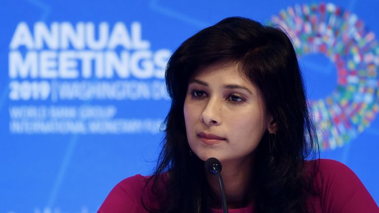Gita Gopinath, IMF Chief Economist and Director of the Research Department