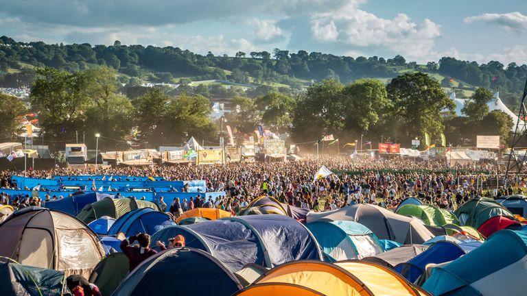 The Glastonbury Festival of Contemporary Performing Arts on June 30, 2019 in Glastonbury, England