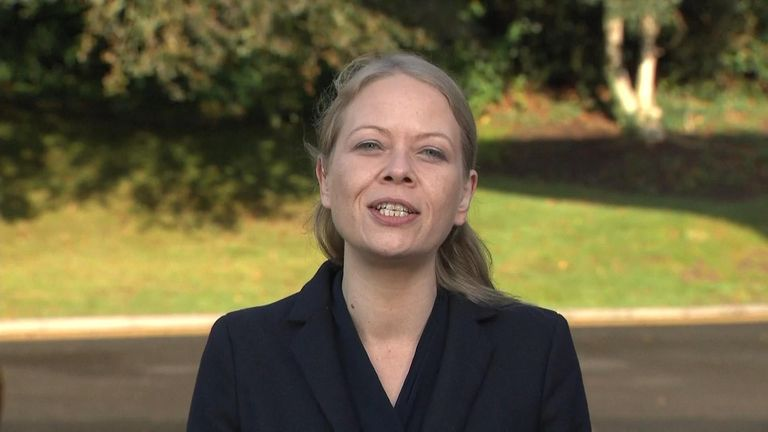 Green Party, Co-Leader, Sian Berry on Ridge on Sunday.