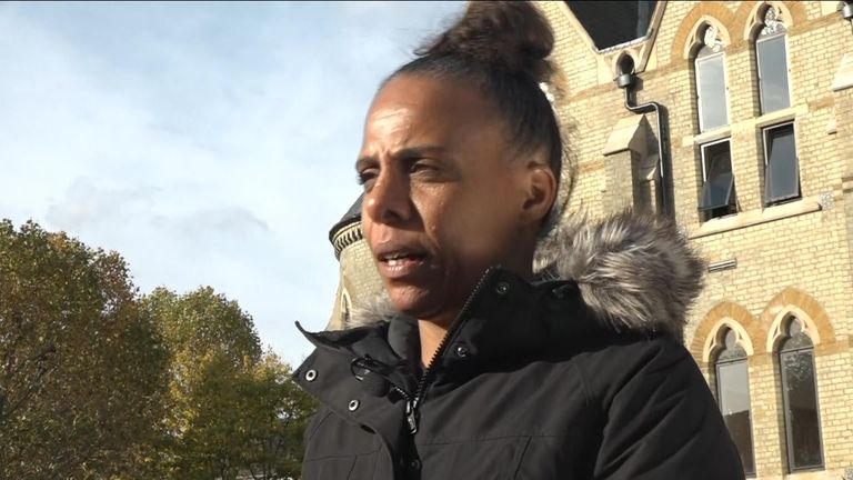 Natasha Elcock, chair of Grenfell United