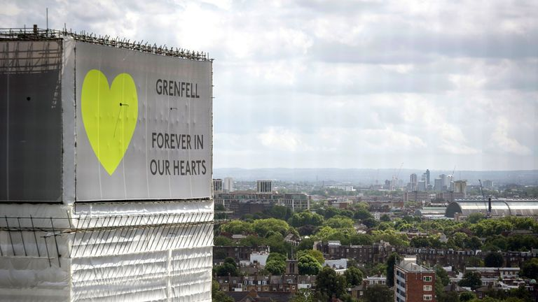 The fire at Grenfell Tower in West London devastated the surrounding community