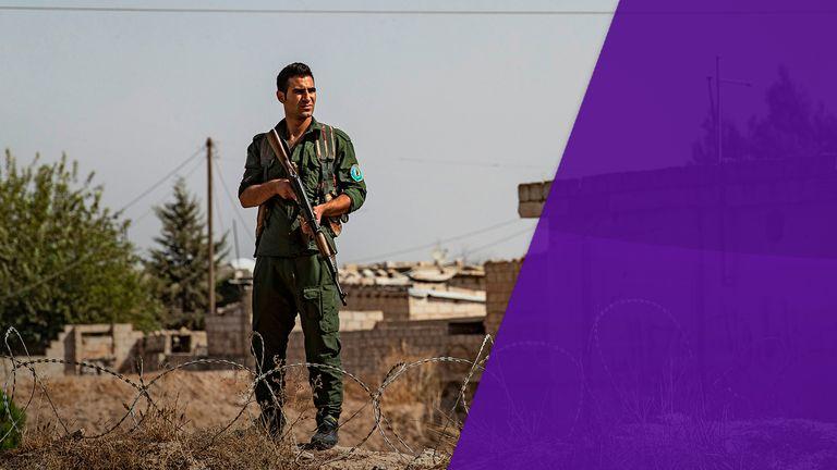 Haynes Sky Views - the Kurds have been guarding IS prisoners