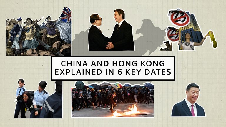 The relationship between Hong Kong and China is at it's lowest for decades. These are the six moments you need to understand to really get why it has become such an important issue.