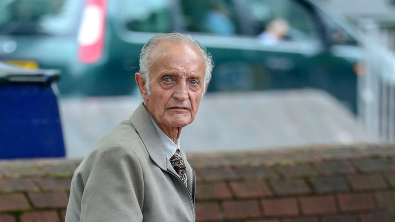 Ian Hemmens, 81, 'likes talking to people' and had felt 'isolated'