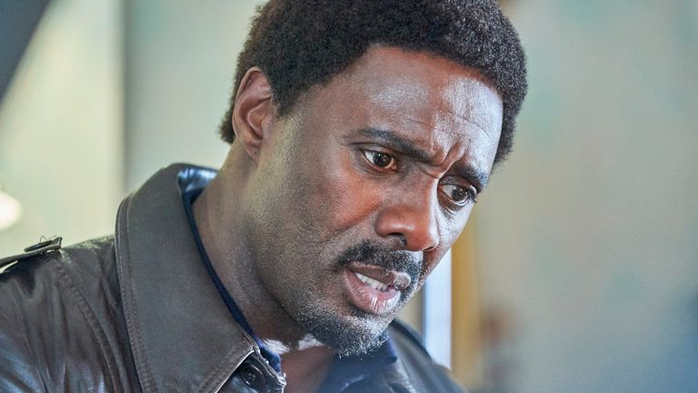 Idris Elba in In The Long Run. Pic: Sky UK