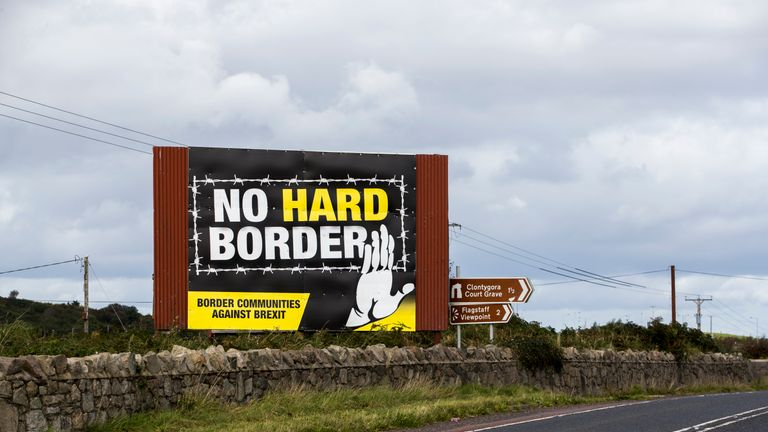 Boris Johnson has vowed to scrap the Irish border backstop