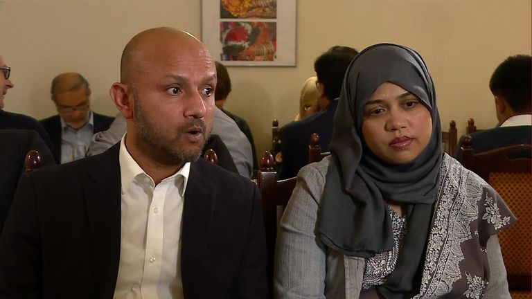 The family spoke after their court victory over their daughter Tafida.