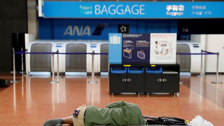 More than 1,600 flights have also been cancelled