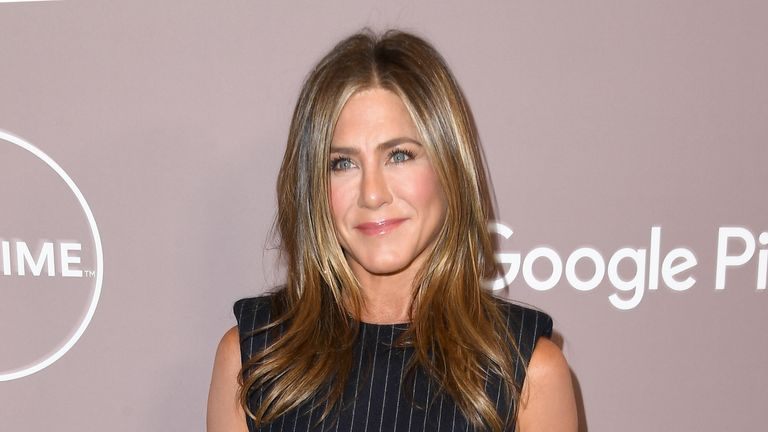 Jennifer Aniston attends Variety's 2019 Power Of Women: Los Angeles Presented By Lifetime at the Beverly Wilshire Four Seasons Hotel on October 11, 2019 in Beverly Hills, California