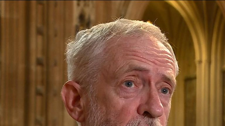 Jeremy Corbyn says Boris Johnson's deal is worse than Theresa May's