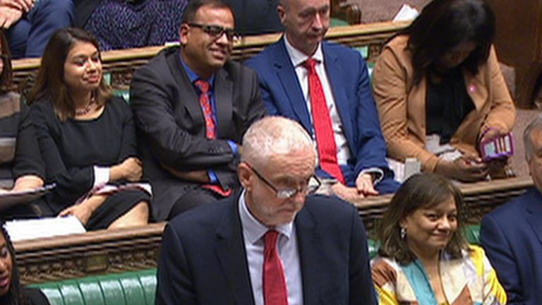 Jeremy Corbyn muses on the prospect of a Labour Queen's Speech in a few weeks