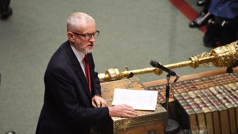 Jeremy Corbyn Pic: ©UK Parliament/Jessica Taylor