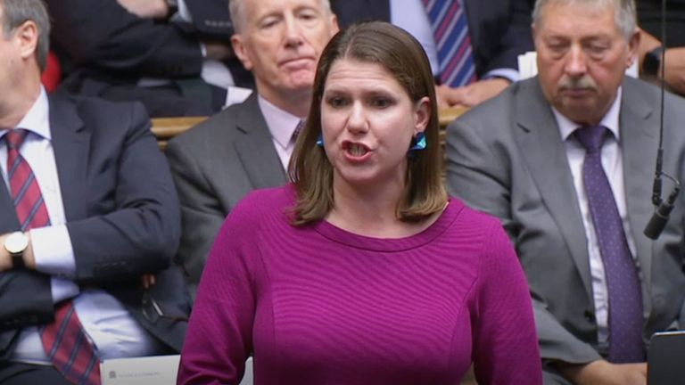 Liberal Democrat leader Jo Swinson responds to Prime Minister Boris Johnson's statement on his new Brexit deal