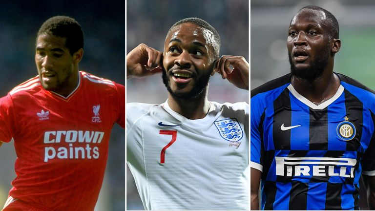 John Barnes, Raheem Sterling and Romelu Lukaku have been subjected to racist abuse on the pitch