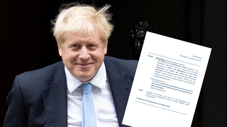 Boris Johnson has agreed a new deal with the EU