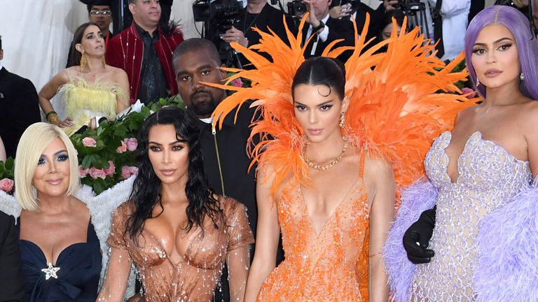 The Kardashians at the Met Gala