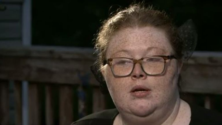 Katrina Alwood wants judges to show leniency towards her son. Pic: CBS This Morning
