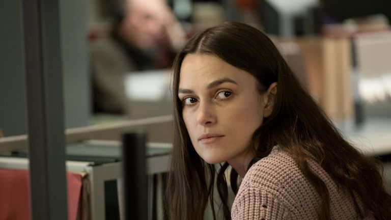 Keira Knightley in Official Secrets. Pic: eOne