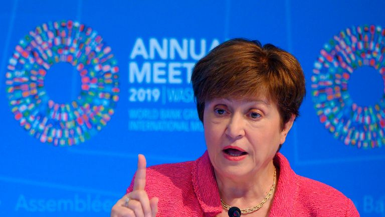 Kristalina Georgieva is managing director of the IMF