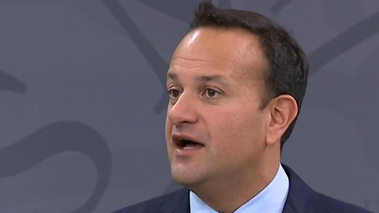 Leo Varadkar says Ireland's preference is for a Brexit deal to be struck in October