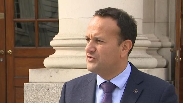 Leo Varadkar reacts to talk of new proposals from British government on Brexit