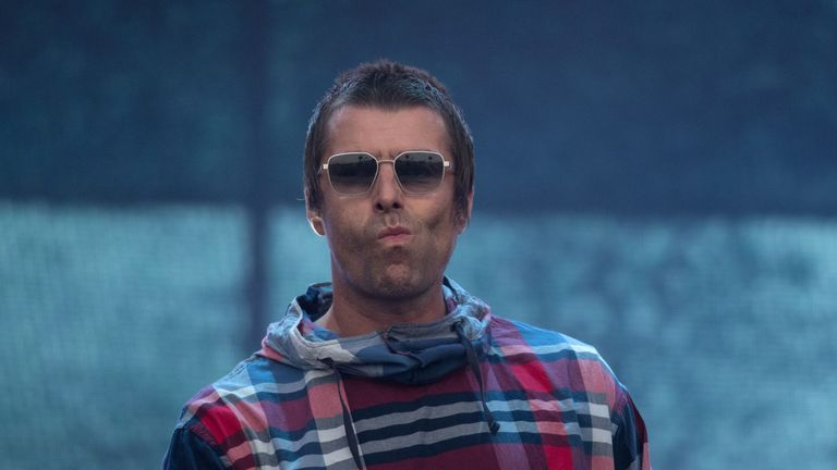 Liam Gallagher at Glastonbury 2019