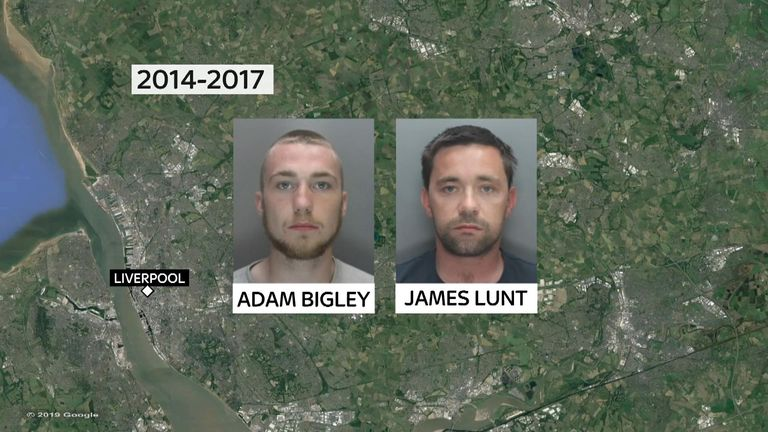 Bigley and Lunt were in prison together for three years